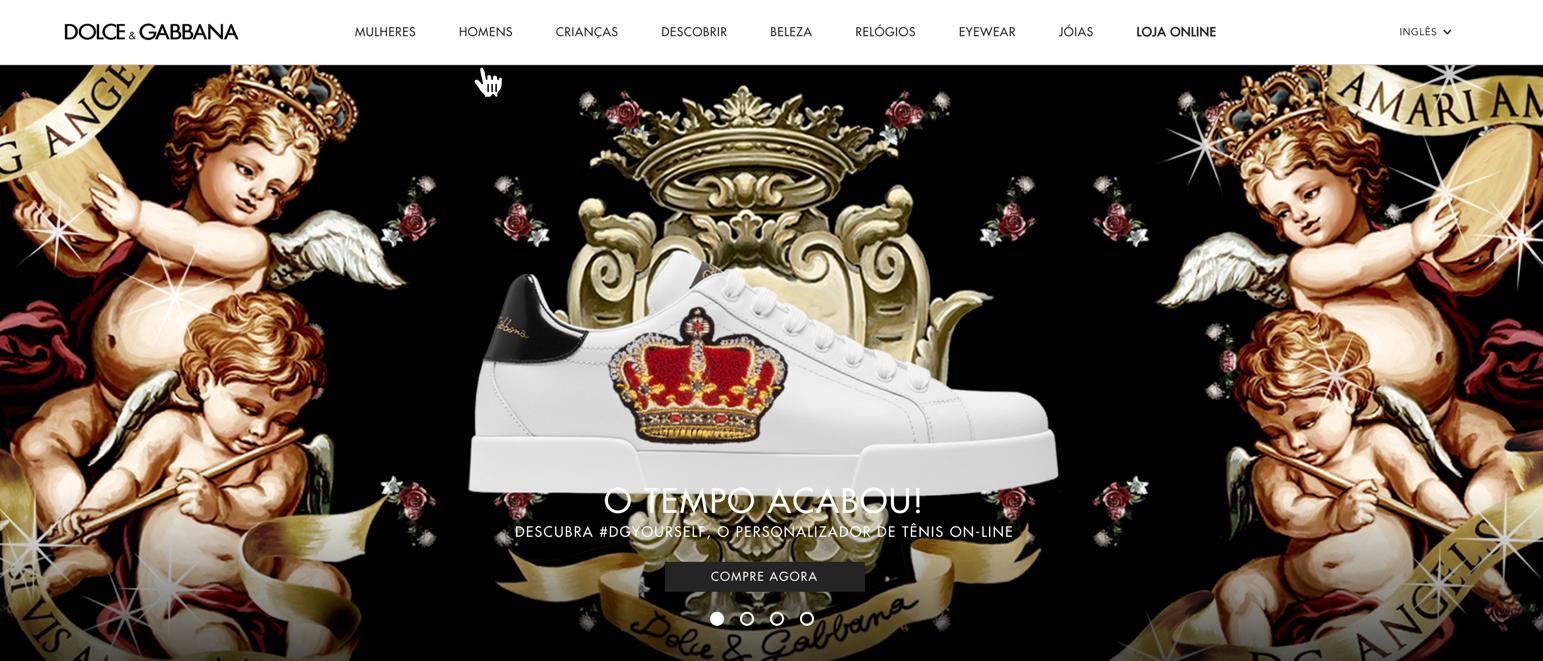 Dolce Gabbana Loja Online Brasil