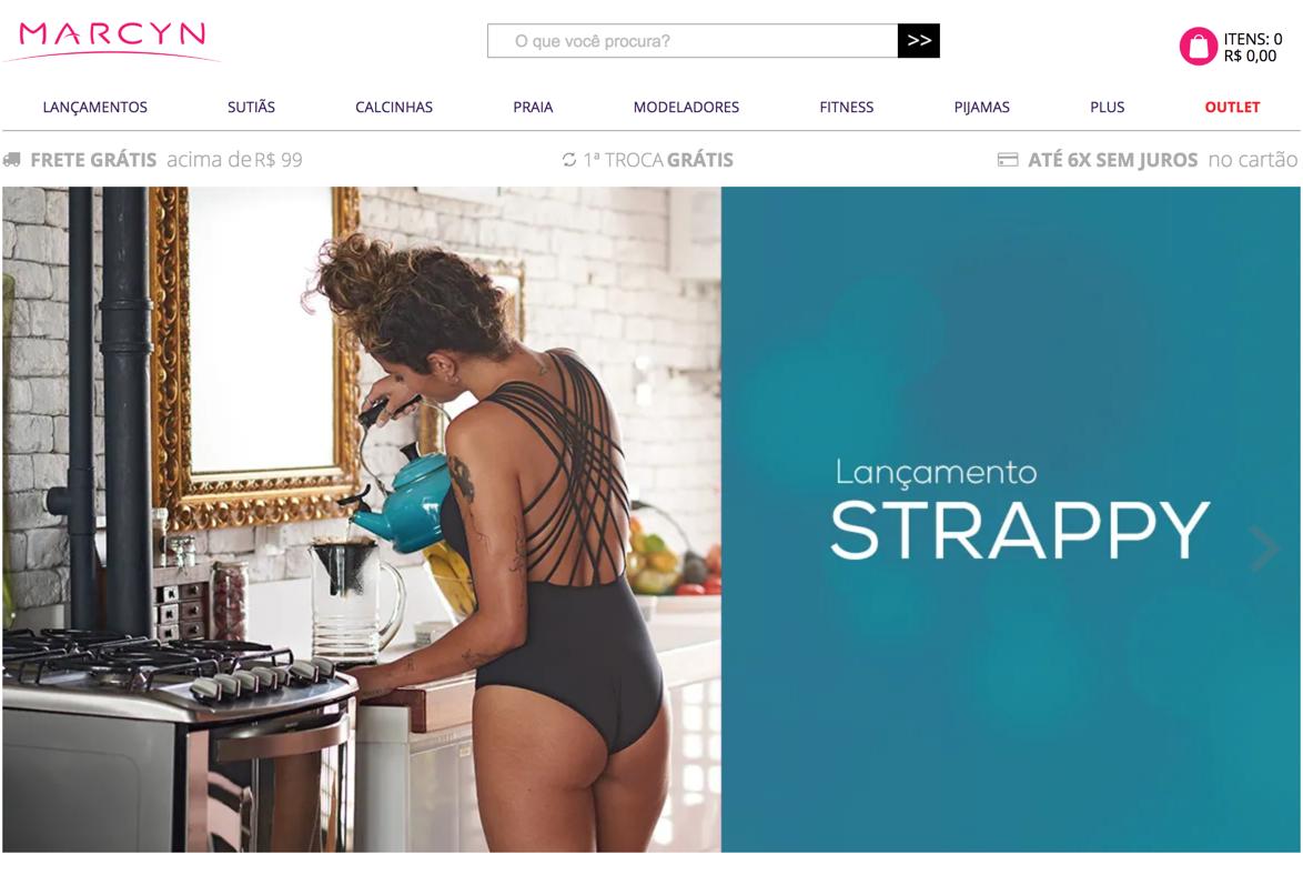 Lingerie online calcinhas, sutiãs, fitness e moda praia – Marcyn Loja Oficial
